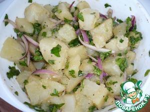 Картофельный салат Уксус