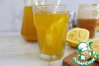 Рецепт: Имбирный чай с лимоном и медом