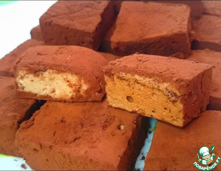 Рецепт: Быстрый шоколадный маршмеллоу