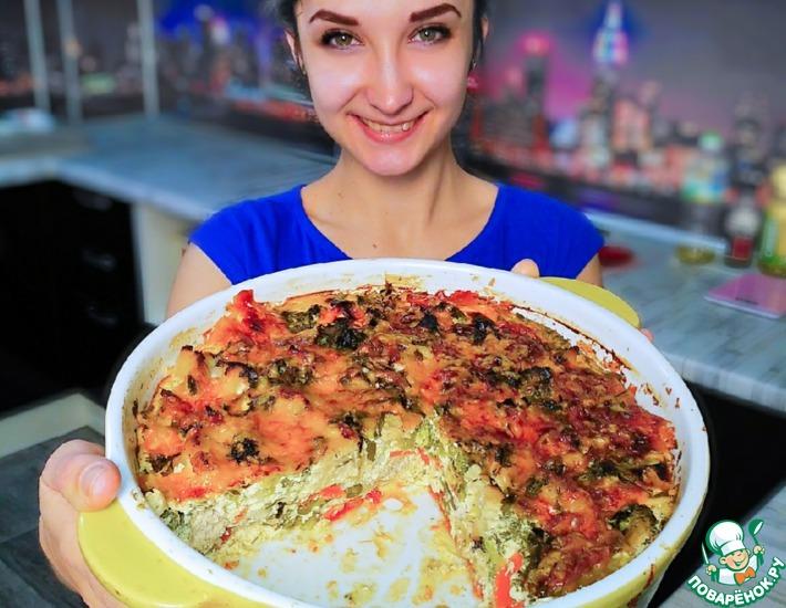 Рецепт: Овощи в сливочной заливке
