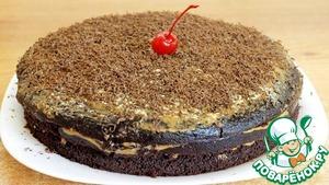 Рецепт: Шоколадный торт на кипятке