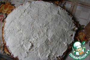 Бисквитный торт с вишневыми прослойками Мука пшеничная