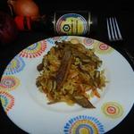 Рис с азиатской ноткой