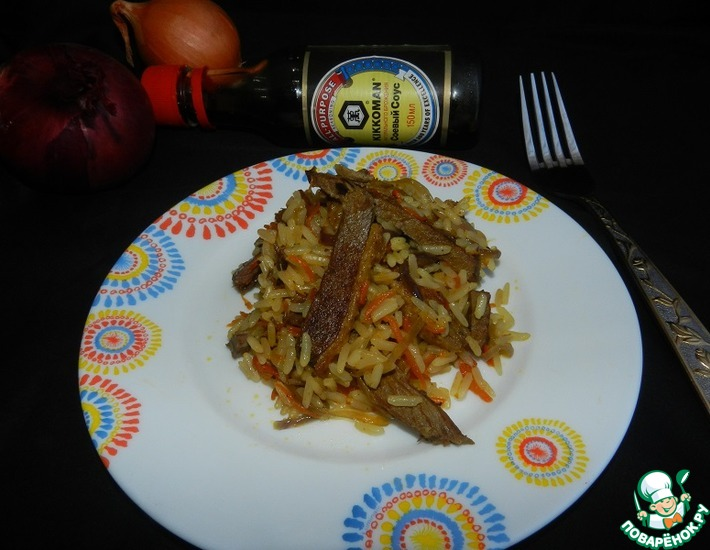 Рецепт: Рис с азиатской ноткой