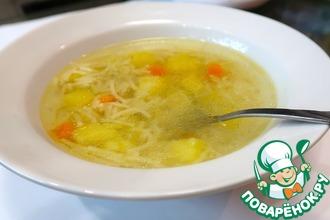 вермишелевый суп вкусный