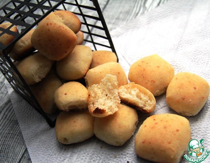 Рецепт: Сырный мини-хлеб