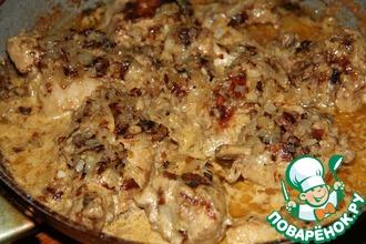 Рецепт: Малайская курица