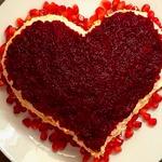Салат Красный бархат