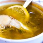 Рыбный суп с минтаем и сельдереем