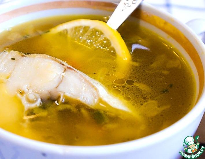 Рецепт: Рыбный суп с минтаем и сельдереем