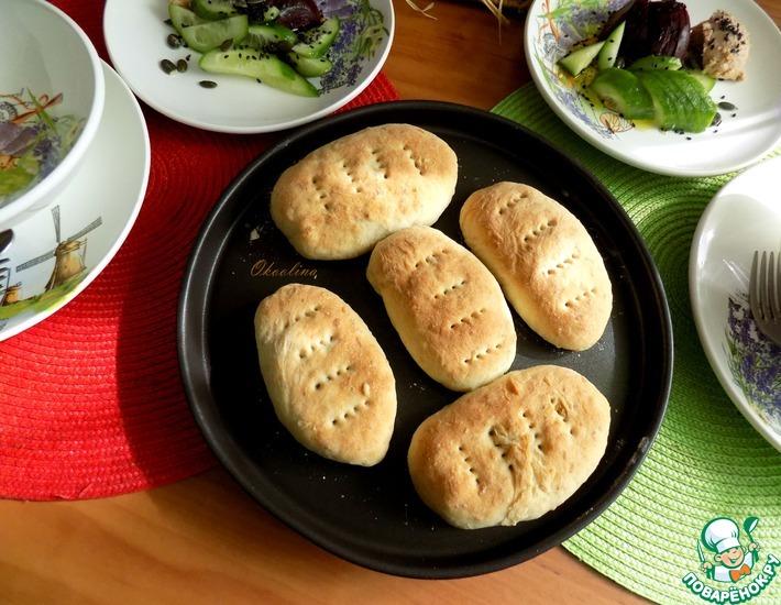 Рецепт: Постные овсяные пирожки