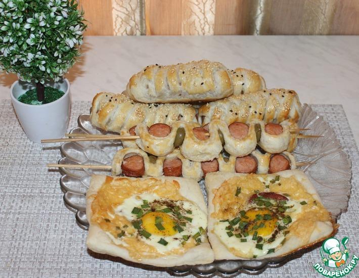 Рецепт: 3 идеи завтрака из слоеного теста