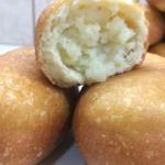 Воздушные жареные пирожки с картофелем