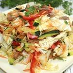 Новый салат из пекинской капусты