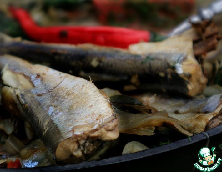 Рецепт: Шкара из мойвы и салаки