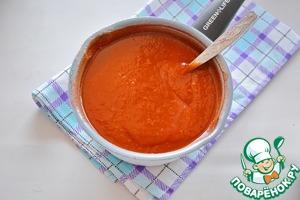 Домашний кетчуп из томатной пасты Паприка сладкая