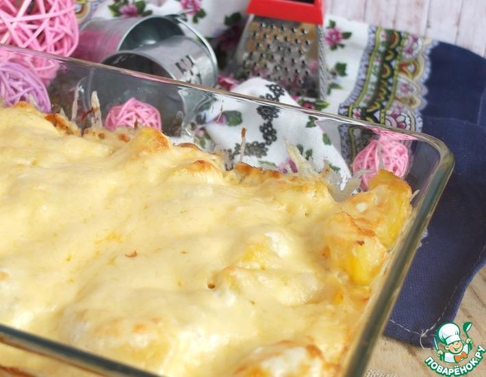 Рецепт: Картофель Сливочный