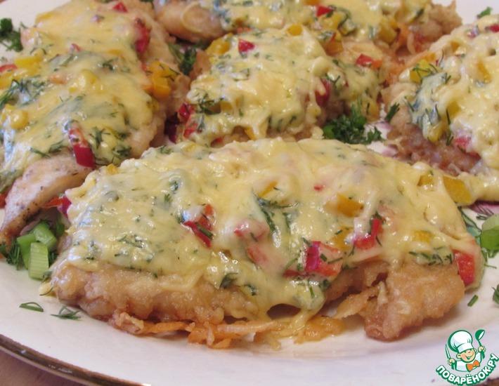 Рецепт: Куриное филе в духовке