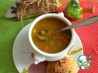 Постный суп с нутом ингредиенты