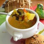 Постный суп с нутом