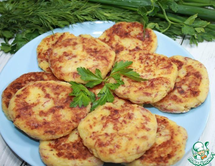 Рецепт: Картофельные шницели