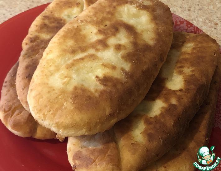Рецепт: Пирожки за 15 минут