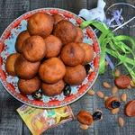 Творожные колобки с сухофруктами и орехами