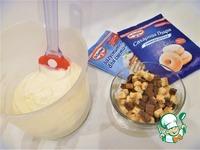 Сметанный десерт с клубникой и печеньем ингредиенты