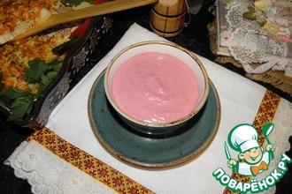 Рецепт: Свекольный соус
