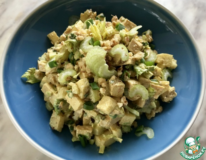 Рецепт: Диетический куриный салат