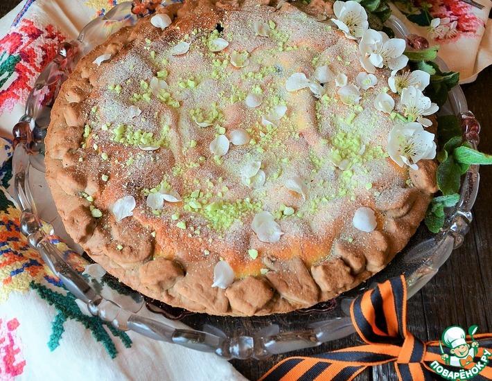 Рецепт: Пирог Цветущий май