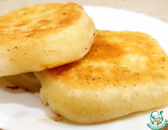 Рецепт: Лепешки с сулугуни