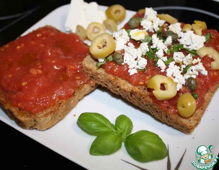 Бутерброды по-критски и по-испански