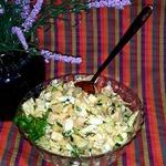 Салат картофельный с курицей