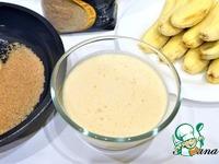 Карамельные бананы в кокосовой стружке ингредиенты