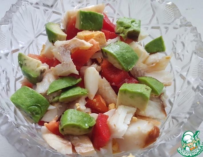 Рецепт: Классный салат из авокадо