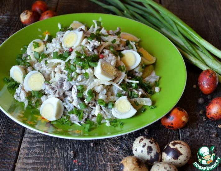 Рецепт: Салат с перловкой