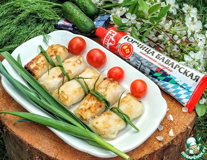 Рецепт: Нэм с курицей и ананасами