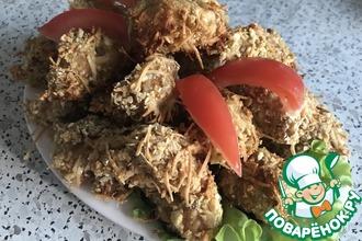 Рецепт: Куриные нагетсы с пармезаном