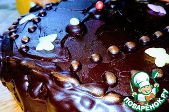 Рецепт: Торт Прага из пакета