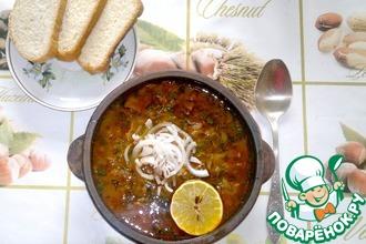 Рецепт: Солянка по-грузински от Ильи Лазерсона