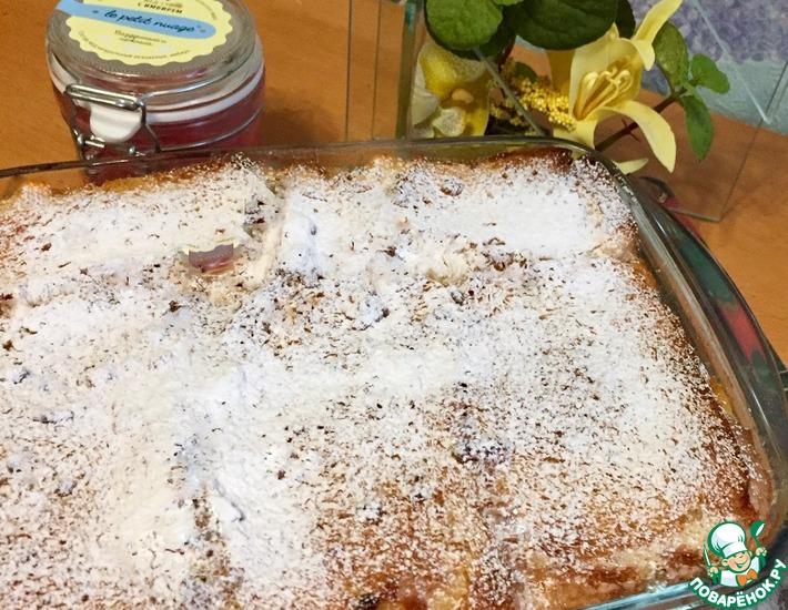 Рецепт: Запеканка из хлеба и творога