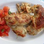 Куриные крылышки с копченым сыром