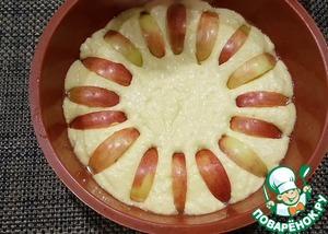 Творожная шарлотка с яблоками: рецепты на каждый день