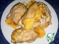 Куриные рулеты с сыром и кешью ингредиенты