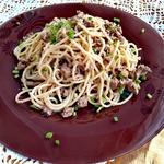 Спагетти Семейный обед