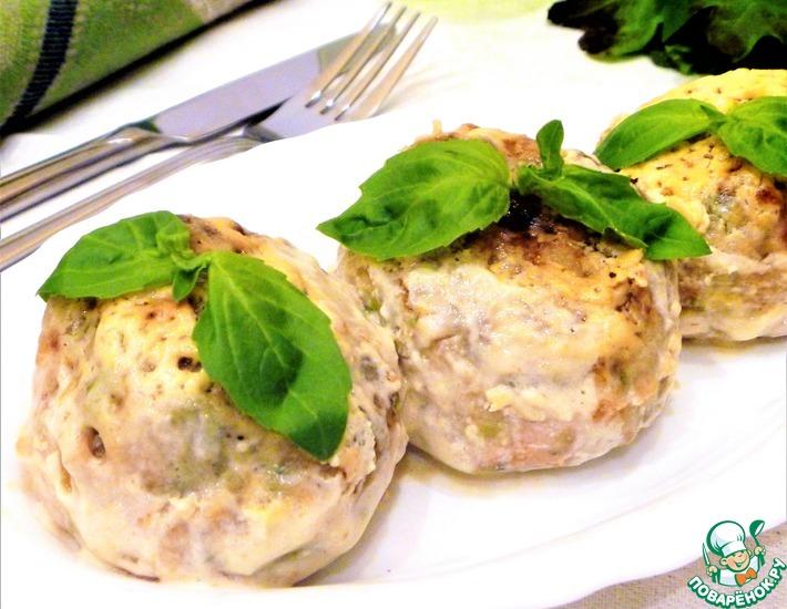 Рецепт: Куриные тефтели с рисом и брокколи