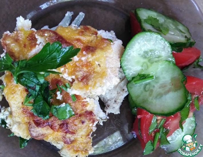 Рецепт: Курица в сырном соусе