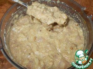 Куриная колбаса в СВЧ Бедро куриное