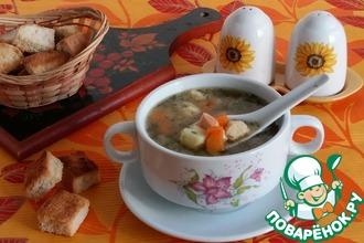 Рецепт: Суп с нежнейшими клецками